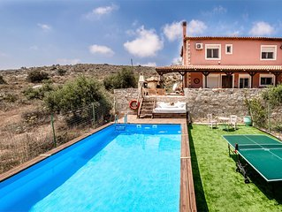 Villa Elise, Beautiful house, A/C, Private Pool, Table Tennis .