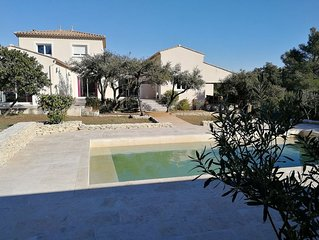 Agréable et spacieuse villa entre Nîmes et Uzès