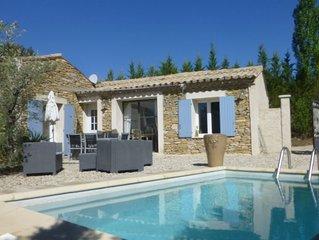Mazet Clos des vignes,  charme des pierres avec piscine privee