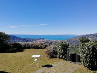 Casa 'Favola Verde', Vista Mare Sestri Levante, zona Cinque Terre