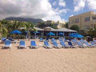 """""""Mango"""" -  NEW!! Vibrant Condo Yards from BEACH at Hamilton Beach Villas & Spa"""
