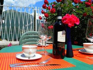 Ampio appartamento 6 persone,10 min da Bellagio, giardino,vicino alla spiaggia