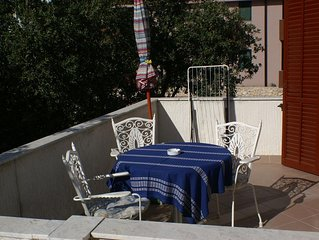 One bedroom apartment with terrace Mandre (Pag) (A-4059-b)
