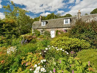 Tomnabrack Cottage Bed and Breakfast. Pitlochry, Perthshire, Scotland.