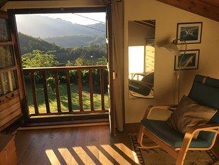 Preciosa e íntima casa para dos personas en plena naturaleza