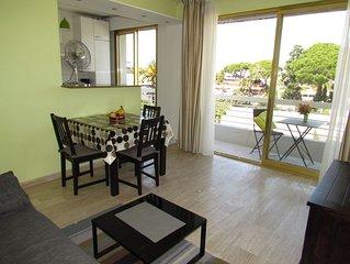 Antibes - Immeuble de standing avec un panorama situé à 300m des plages
