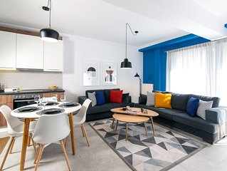 Ocean blue apartment in Thessaloniki city center