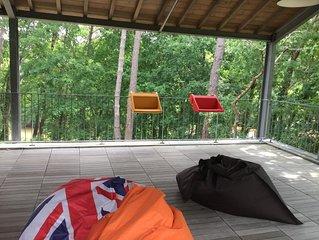 Maison  nature golf et forêt