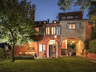 Villa Casa Rossa with private pool between Le Marche/Umbria near Frasassi Cave