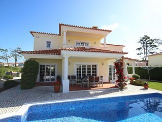 Luxury villa,perfect for beach,golf,surf,wifi south face private garden,pool