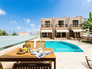 If on vacation in Rethymnon, Crete this is a grand selection