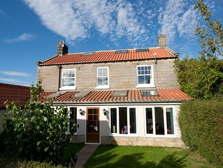 Unique large holiday cottage, perfect for multi-generational groups. Near Whitby