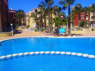 Beautiful Modern 3 bed 2 bath apartment in Puerto Marina with WiFi and UK TV