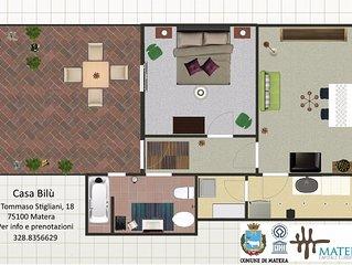 Casa Bilú Terrace - Matera - Zona Sassi