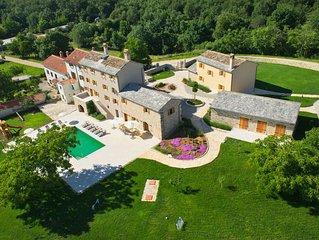 Villa Poropati, Groznjan – Countryside Estate, kids pool, golf, weddings, events