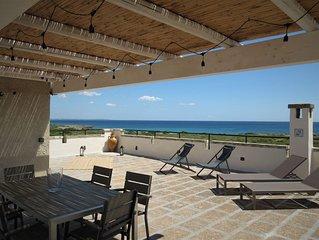 Esclusivo appartamento in villa fronte mare_Baia di Punta Prosciutto