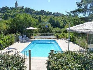 Villa Amande: On Edge Of Historic Reillanne, Provence Alpes Cote D'Azur, France