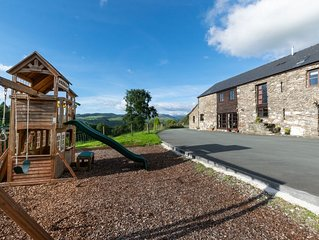 Spacious, serene and spectacular – this converted barn really does have the wow