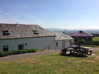 Nestled in the Menteith Hills with Spectacular views of the Lake of Menteith