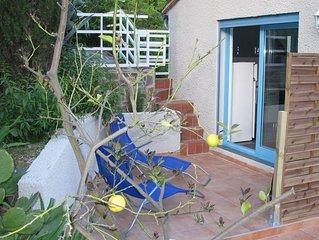 Petite Maison Duplex Neuve (50m2). Terrasses et Jardin.