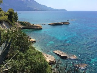 Bungalow Kefalonia: 2 bedroom bungalows with stunning sea view in Spartia