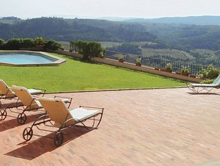 Tuscan Castello sleeps up to 26. Private pool.