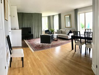 Nice apartment close to Drottningholm  Castle,  up to 7 guests