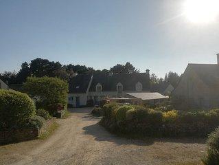 Jolie maison au bord du golfe du Morbihan