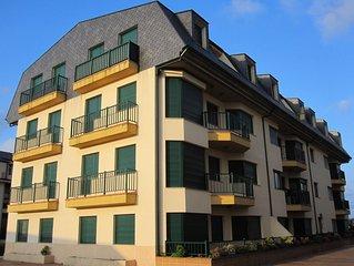 Apartamento Barreiros - Playa Catedrales 5 pers. (2 hab.) vistas a la Ría de Foz
