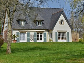 Modern Villa in Lannion with Private Garden