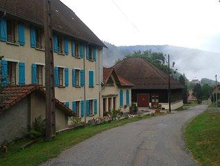 Groepsaccommodaties nabij de Ballon d'Alsace, capaciteit 21 en 23 personen