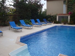 Luxurious 3 bedroom 3 bathroom Villa with large private pool and roof terrace