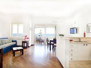 Splendido appartamento a Gallipoli con vista mare per 4 persone
