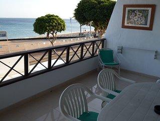 Apartamento Front Line terraza con vistas al mar, cerca de la playa