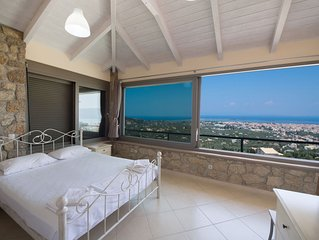 Two bedroom house with amazing panoramic sea and city view