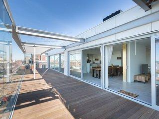 Luxurious Scheveningen Harbour Penthouse, The Hague
