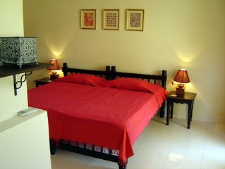 Well appointed Row Villa In South Goa with Swimming Pool