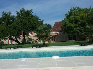 Gorgeous Country Gite,  Pool set in acres of pretty gardens 10 mins to Bergerac