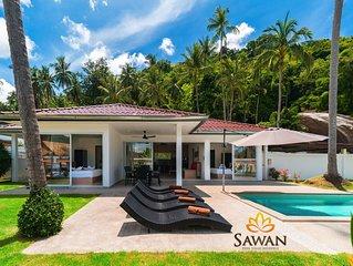 Villa 3 chambres + Piscine & Jardin privés Lamai Koh Samui