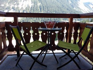 Self catering studio sleeps 4, Ski-In/Ski-Out, WiFi, recently modernised