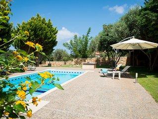 Vakantiehuis met privé-zwembad, prachtig uitzicht; het ultieme genieten!