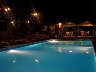 Villa con piscina max relax (novita' 2016 acqua salata)