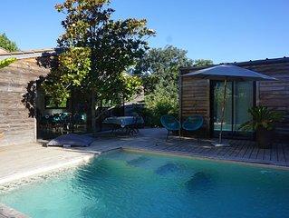 Maison contemporaine avec piscine Aix en Provence