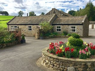 5⭐️ luxury rural retreat in the heart of North Yorkshire, with a welcome hamper