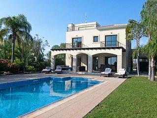 Palm Retreat Villa with Private Pool