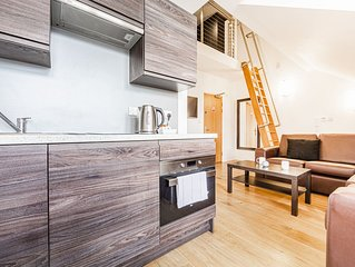 City Centre Apartment in Listed Building - Apt 50 St James' - The Bruce Building