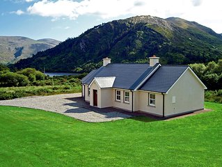 Detached bungalow, completed in traditional style, and enjoying fine outlook of