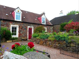 2 bedroom period cottage in charming seaside village