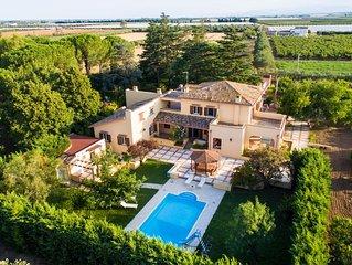 Villa padronale con piscina tennis Golf Club. Marina di Pisticci-Matera-Porthero