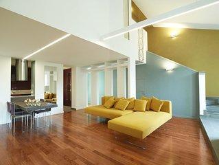 Appartamento 5 stelle lusso con Terrazza Panoramica riservata - Wifi gratuito